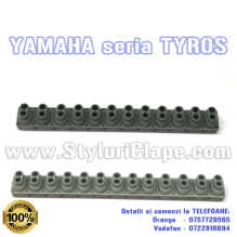 Rubbers contact band Yamaha Tyros